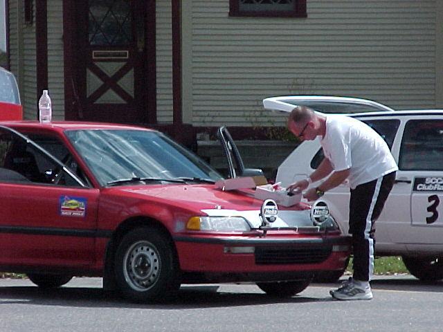 Big red racing photos cog rally 2001 photos for Big red racing
